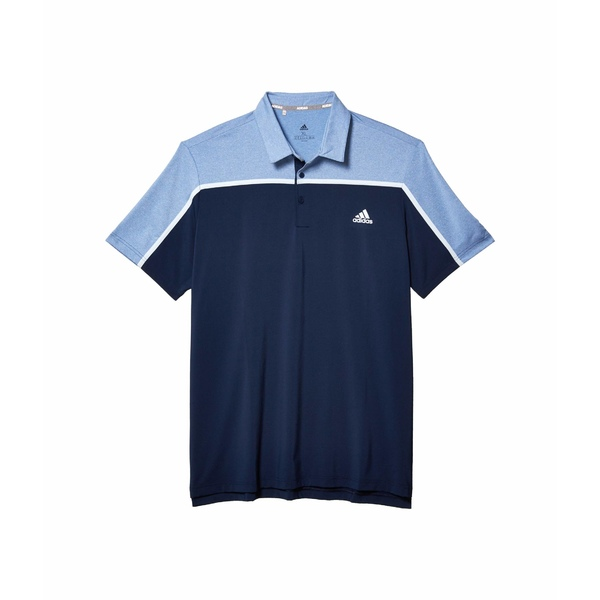 アディダス メンズ シャツ トップス Ultimate365 Color Block Polo Shirt Collegiate Navy/Tracy Royal Melange