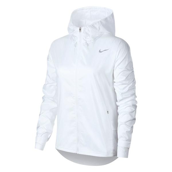ナイキ レディース ジャケット&ブルゾン アウター Essential Water Repellent Running Jacket White/ Reflective Silver
