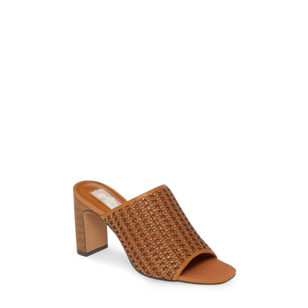 バンドオブジプシーズ レディース サンダル シューズ Hermosa Woven Slide Sandal Cognac Woven Vegan Leather