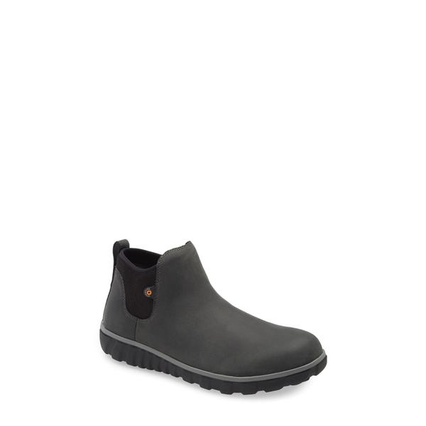 ボグス メンズ ブーツ&レインブーツ シューズ Classic Casual Waterproof Chelsea Boot Dark Gray