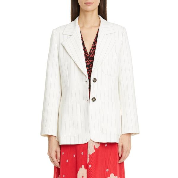 ガニー レディース ジャケット&ブルゾン アウター Two-Button Suiting Jacket Egret