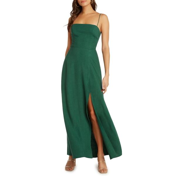 ウィロー レディース ワンピース トップス Santorini Low Back Maxi Dress Basil