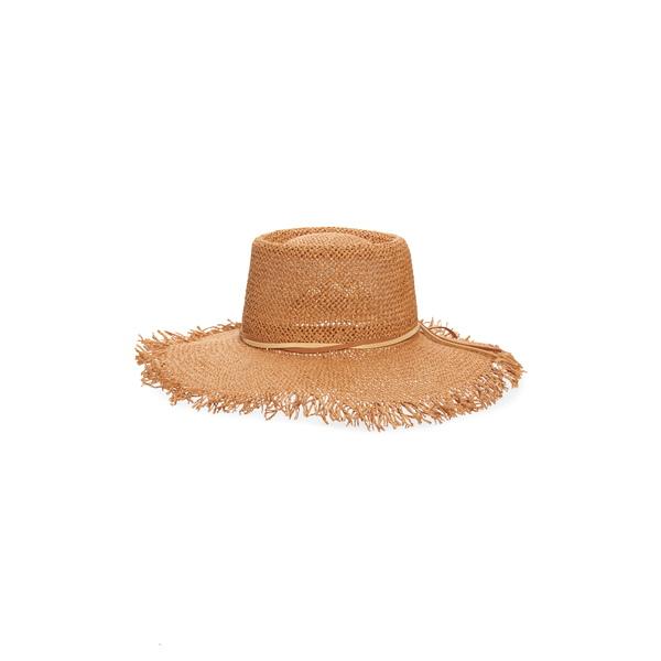 トレジャーアンドボンズ レディース ヘアアクセサリー アクセサリー Straw Boater Hat Rust Combo