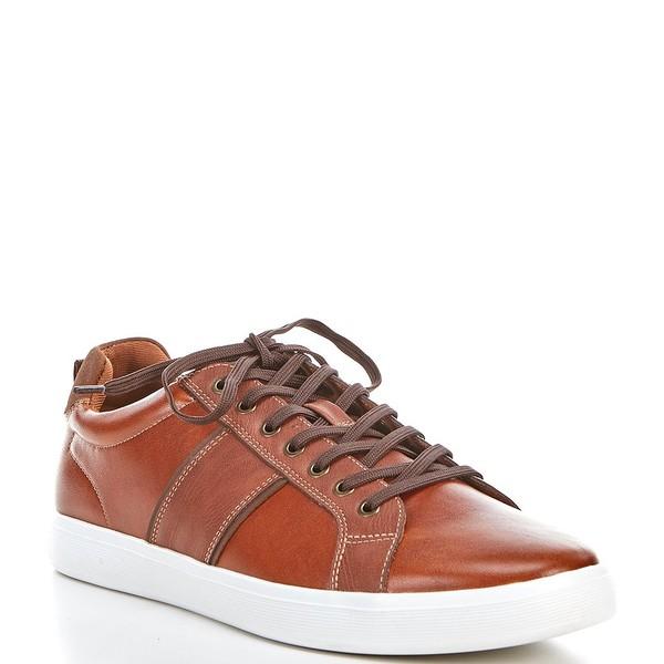 アルド メンズ スニーカー シューズ Men's Cadaredien Leather Sneakers Cognac