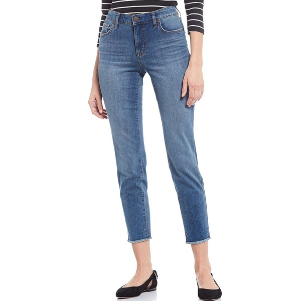 コードブリュー レディース デニムパンツ ボトムス Classic Ankle Fray Hem Jeans Allure