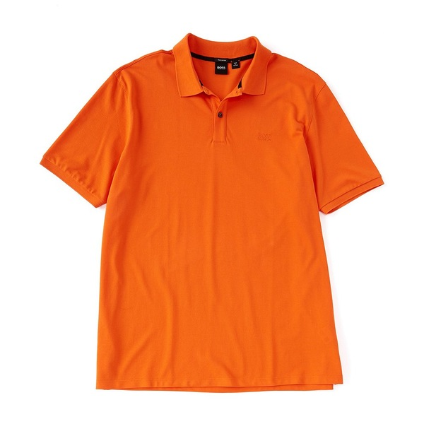 ヒューゴボス メンズ シャツ トップス BOSS Big & Tall B-Pallas Short-Sleeve Polo Shirt Bright Orange
