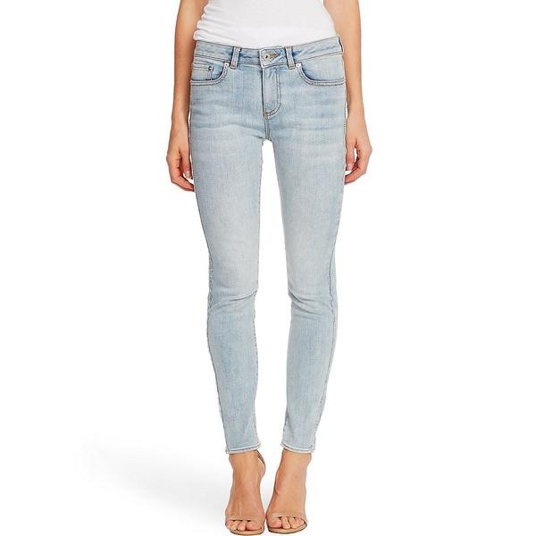 セセ レディース デニムパンツ ボトムス Light Wash Skinny Ankle Jeans Soft Blue Bella