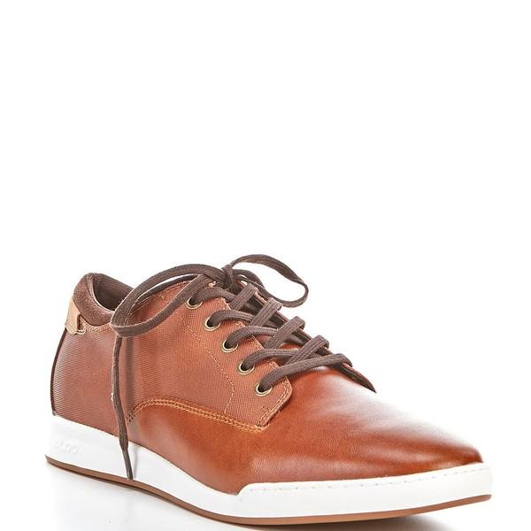 アルド メンズ スニーカー シューズ Men's Marong Leather Sneakers Cognac