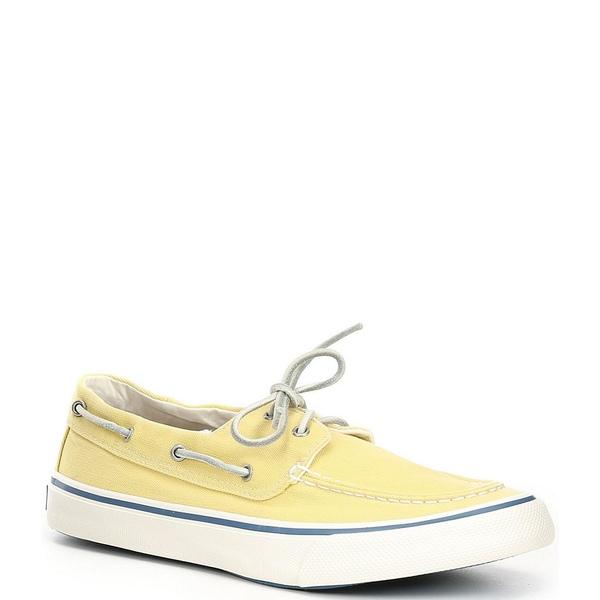 スペリー メンズ スニーカー シューズ Men's Bahama II Kick Back Boat Sneaker Yellow