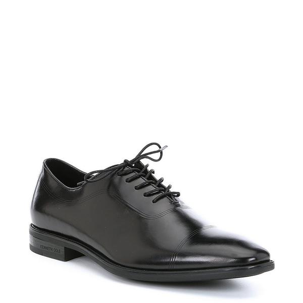 ケネスコール メンズ ドレスシューズ シューズ Men's Ticketpod Leather Oxford Black