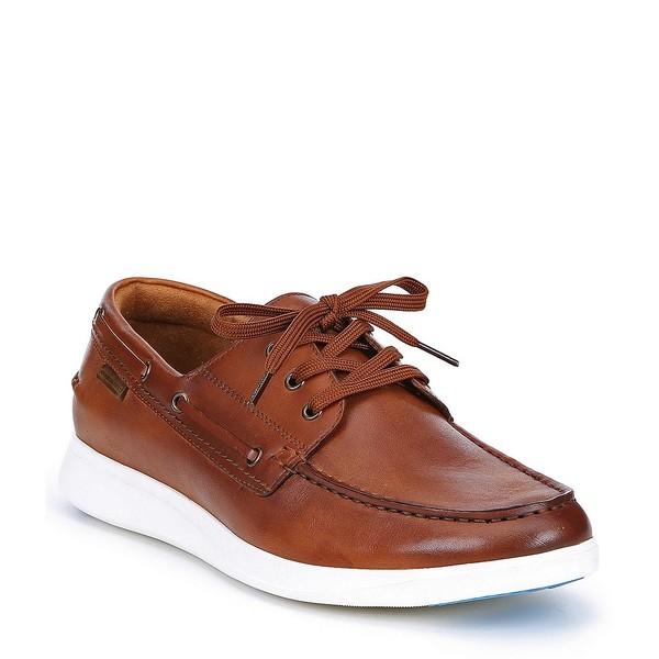 ケネスコール メンズ スニーカー シューズ Rocketpod Leather Sneaker Cognac