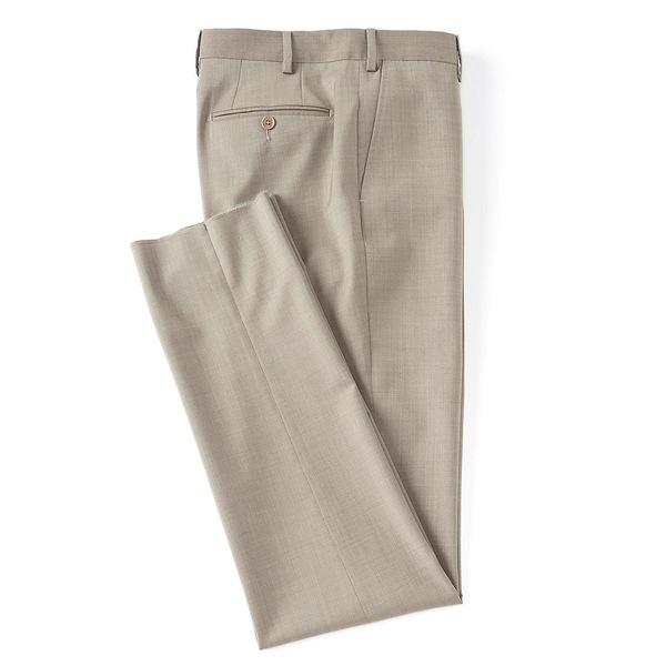 ピーエヌイレブン バイ ザネッラ メンズ カジュアルパンツ ボトムス Modern Fit Flat Front Solid Dress Pants New Tan