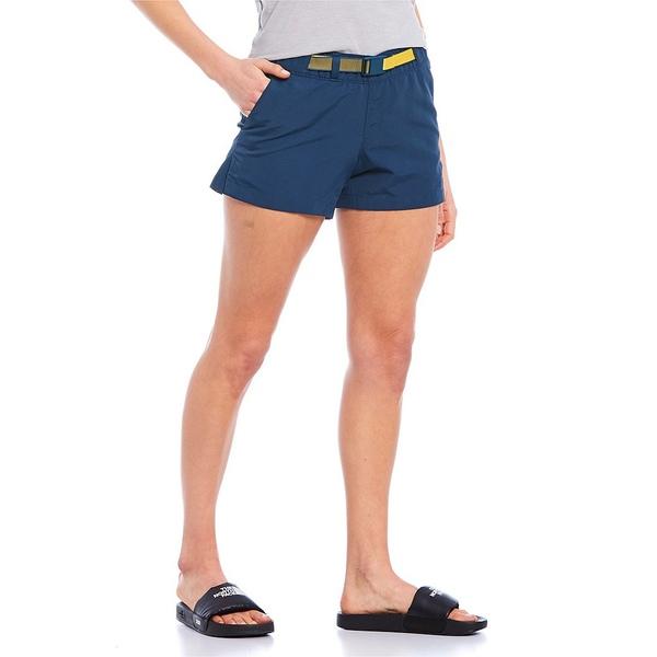 ノースフェイス レディース カジュアルパンツ ボトムス Class V Hike Shorts Blue Wing
