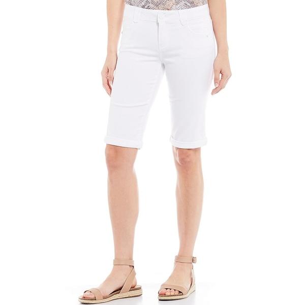 デモクラシー レディース カジュアルパンツ ボトムス Absolution Roll-Up Bermuda Shorts Optic White