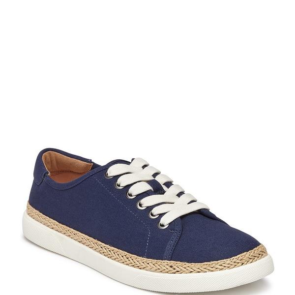 バイオニック レディース スニーカー シューズ Hattie Canvas Sneakers Deep Blue