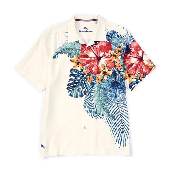 トッミーバハマ メンズ シャツ トップス Kayo Island Short-Sleeve Woven Shirt Continental