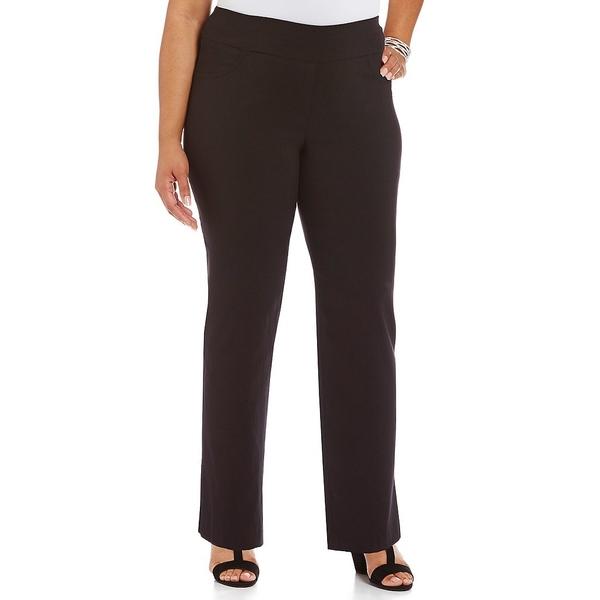 ルビーロード レディース カジュアルパンツ ボトムス Plus Pull-On Tech Solid Pant Black