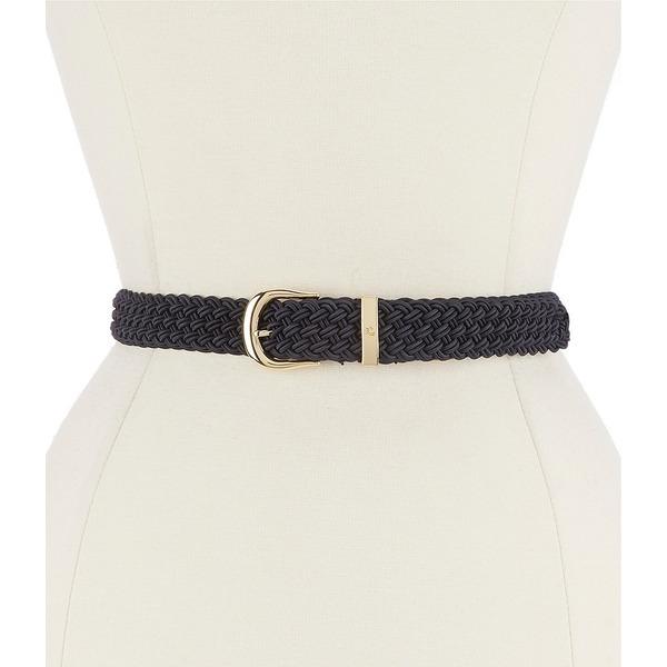 ラルフローレン レディース ベルト アクセサリー Elastic Braided Stretch Belt Lauren Navy