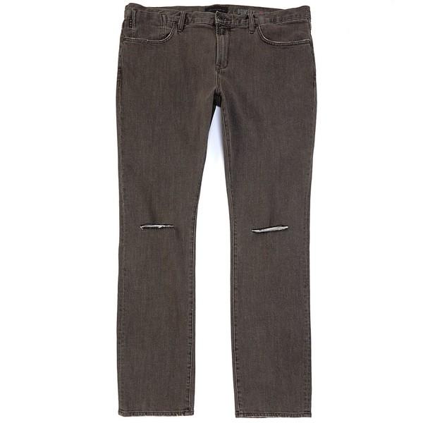ジョンバルベイトス メンズ デニムパンツ ボトムス Bowery Slim-Straight Stretch Denim Jeans Stone Grey