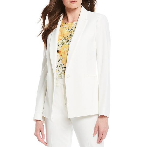 アレックスマリー レディース ジャケット&ブルゾン アウター Katie Melange Long Sleeve Machine Washable Jacket Ivory