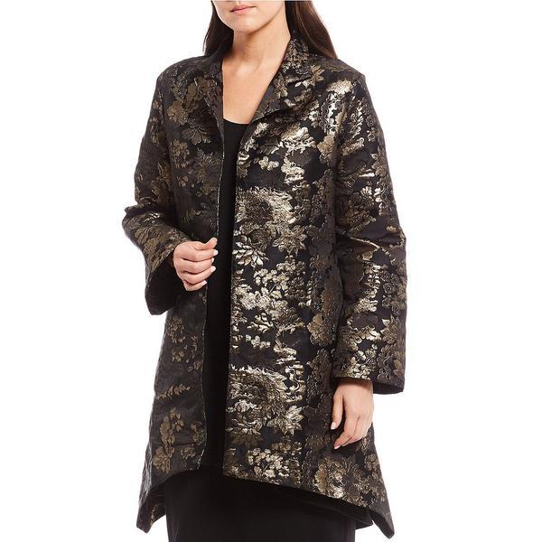 ブリンウォーカー レディース ジャケット&ブルゾン アウター Black & Gold Floral Tapestry Benedict Jacket Black/Gold