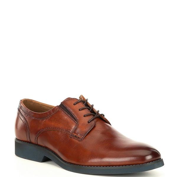アルド メンズ ドレスシューズ シューズ Men's Topino Leather Oxfords Cognac