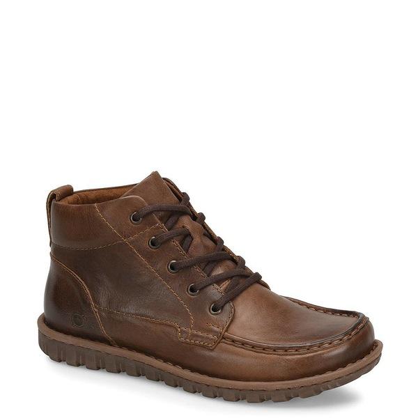 ボーン メンズ ブーツ&レインブーツ シューズ Men's Leather Gilden Chukka Boots Brown