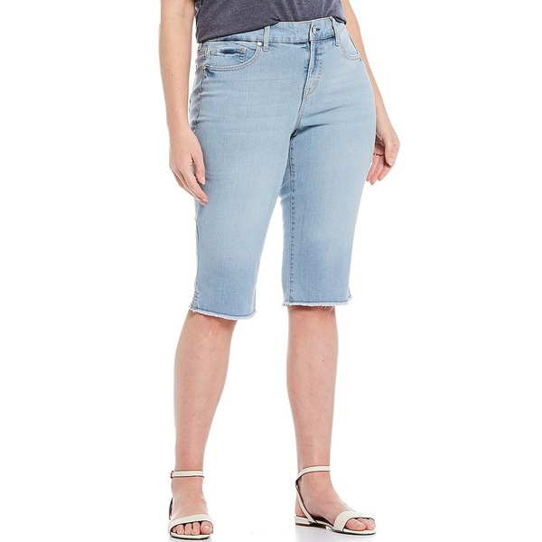 コードブリュー レディース カジュアルパンツ ボトムス Plus Size Size Chelsea Skimmer Frayed Hem Pant Nico