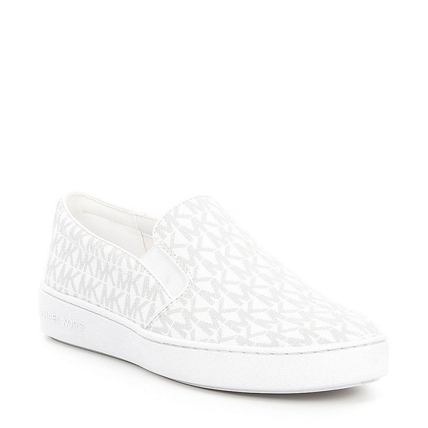 マイケルコース レディース スニーカー シューズ MICHAEL Michael Kors Keaton Slip-On Sneakers Optic White