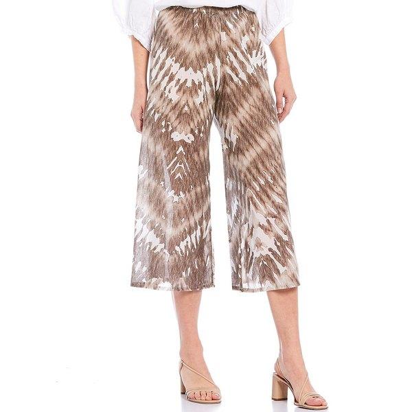 ブリンウォーカー レディース カジュアルパンツ ボトムス Eli Tie-Dye Print Cotton Pull-On Crop Pant Sand