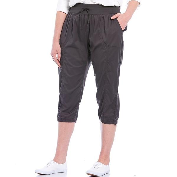 ノースフェイス レディース カジュアルパンツ ボトムス Plus Size Aphrodite Capri Pants Graphite Grey