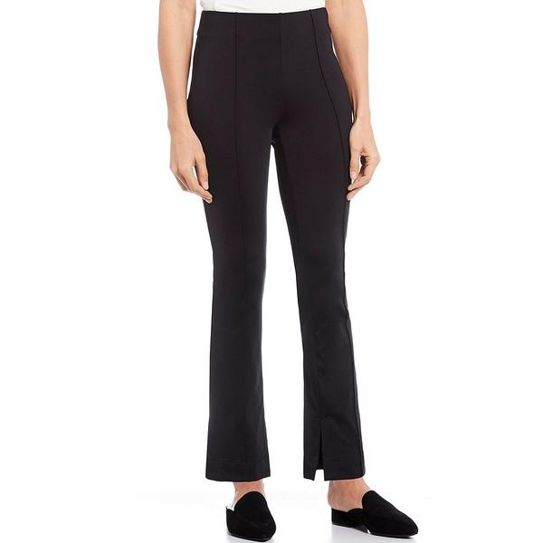 ジョーンズニューヨーク レディース カジュアルパンツ ボトムス Pintuck Seamed Ponte Knit Pull-On Travel Pants Black