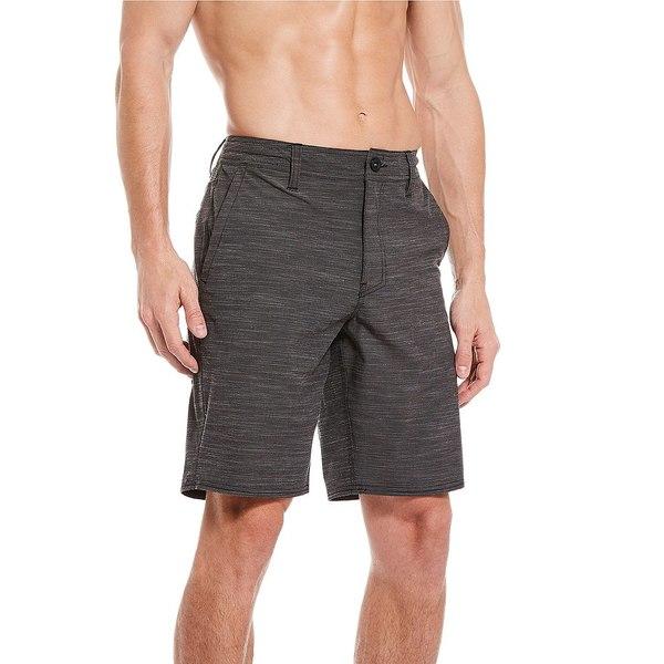 オニール メンズ ハーフ&ショーツ ボトムス Locked Slub 20#double; Outseam Hybrid Shorts Graphite