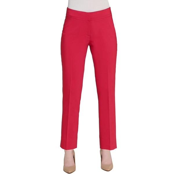 ピーターニガード レディース カジュアルパンツ ボトムス SLIMS Luxe Ponte Chelsea Stretch Morgan Ankle Notch Pant Pink Punch