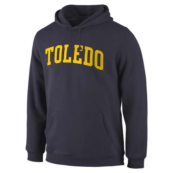 ファナティクス メンズ パーカー・スウェットシャツ アウター Toledo Rockets Fanatics Branded Basic Arch Expansion Hoodie Navy