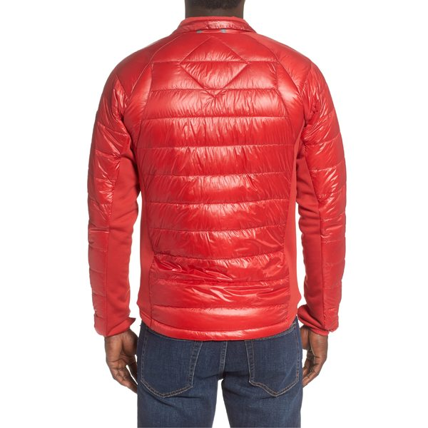 カナダグース メンズ ジャケット&ブルゾン アウター Canada Goose 'Hybridge Lite' Slim Fit Packable Jacket Red