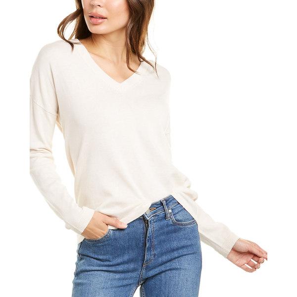 P ニット&セーター Lilla Sweater - Silk-Blend リラピー レディース アウター Tie-Back