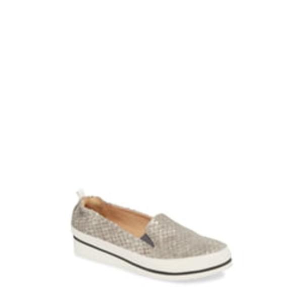 ロンホワイト レディース スニーカー シューズ Nell Slip-On Sneaker Pewter Leather