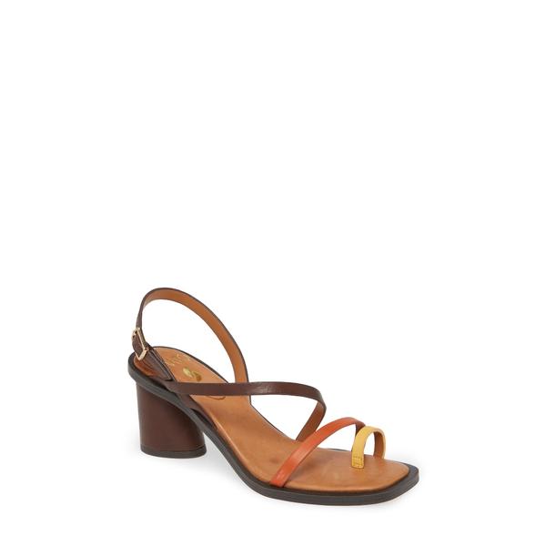 サルトバイフランコサルト レディース サンダル シューズ Rache Sandal Brown Multi Leather