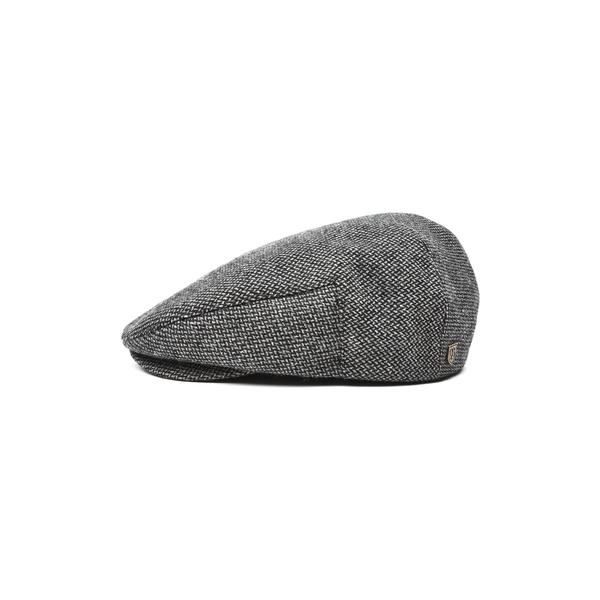 ブリクストン メンズ 帽子 アクセサリー Hooligan II Driving Cap Dark Grey
