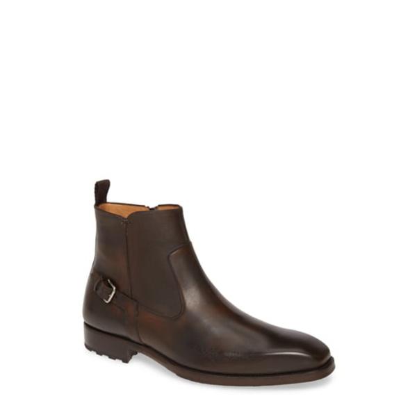 メズラン メンズ ブーツ&レインブーツ シューズ Liege Zip Boot Tobacco Leather