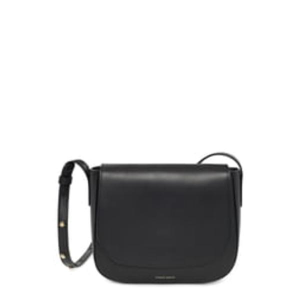 マンスールガブリエル レディース ショルダーバッグ バッグ Leather Crossbody Bag Black