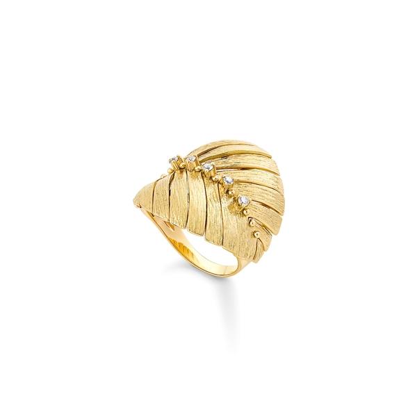 エイチ ユー エー ビー レディース リング アクセサリー Bahia Diamond Ring Diamond