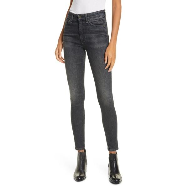 ラグアンドボーン レディース デニムパンツ ボトムス Nina High Rise Ankle Skinny Jeans Royal Oak