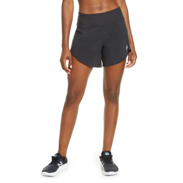 ニューバランス レディース カジュアルパンツ ボトムス 5-Inch Impact Running Shorts Black