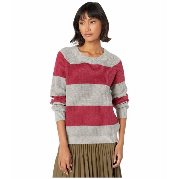 BCBジェネレーション レディース ニット&セーター アウター Stripe Sweater FOH5254929 Heather Grey Combo