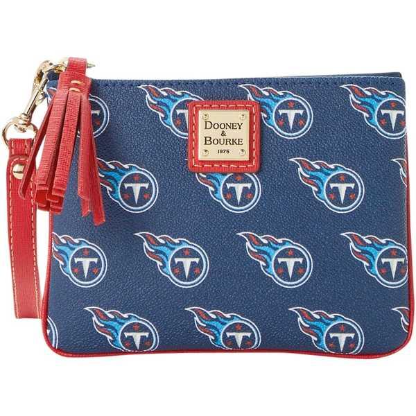ドーネイアンドバーク レディース バックパック・リュックサック バッグ Tennessee Titans Dooney & Bourke Women's Saffiano Signature Stadium Wristlet Unknown