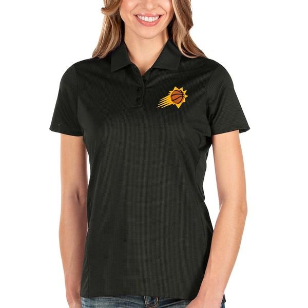 アンティグア レディース ポロシャツ トップス Phoenix Suns Antigua Women's Balance Polo Black