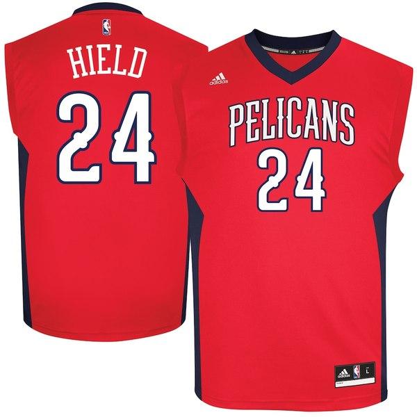 アディダス メンズ シャツ トップス Buddy Hield New Orleans Pelicans adidas Replica Jersey Red
