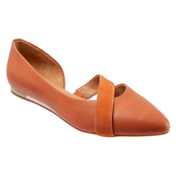 セーブ レディース サンダル シューズ SAVA Lennox d'Orsay Flat (Women) Coral Leather